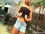 Sexy Slut Teasing On Cam