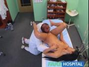 FakeHospital Doctor sexually sets patients fears to rest that her tits are