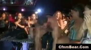 Ordinary babes enjoy wild cfnm party at cfnm club