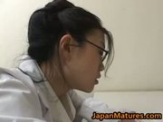 Amazing nurse is a hot mature gal part1