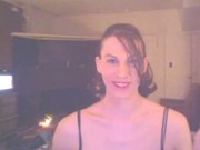 tgirl smoking lightups exhales and sex