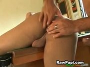 Wild Gay Latino Hot Bareback on Billiard Table