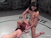 Female Wrestling (strapon sex) 2
