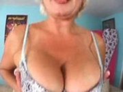 old blonde big titties