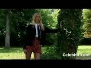 blonde super schoolgirl gets fuck at school garden 1