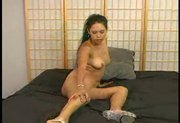 DOMINO cums with her toy - scene 5
