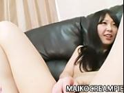 Teen Japanese Chisato Ito getting her pussy pleased