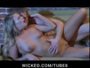 Cute petite blonde girlfriend is fucked to orgasm by hard dick