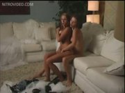 Jadra Holly and Nikita Lea Lap Pussies