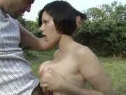 Ava Marteens outdoors anal