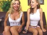 Nicole Ray & Lisa DeMarco - Fuck My Mom And Me #5: Scene #1