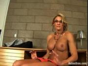 Abby Marie amazing secretary tease