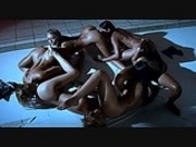 lesbian group shower