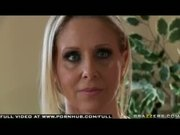Big Tit Blonde Milf Julia Ann fucks cop for troubled sons best interest
