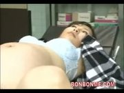 pregnant milf creampie fucked by doctor on operating table
