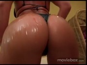 Big wet oily ass gets fucked