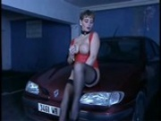 hot milf anal in garage