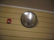 Tranny gets fucked outside neighbors apt door