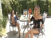Lisa Ann and Julia Ann Oil Overload