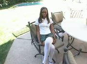 Divine school girl - Ebony sex video - Tube8.com