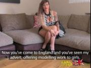 FakeAgentUK Tanned Spanish chick gets fucked hard and fast in office