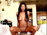4K HD - Exotic4K Ebony Nadia Jay with pierced tits fuck big dick
