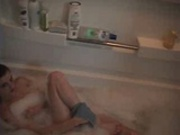 Girl Friend In Tub
