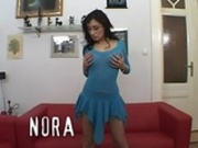 Romanian Nora Davis double fucked