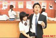 Japanese AV Model cute office girl