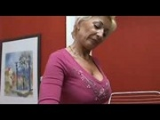 Blond Mature with younger man