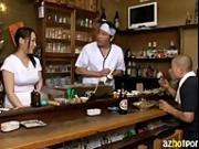AzHotPorn.com - Japanese Pub Female Owners Secret