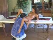 Charmene Star fucked on table