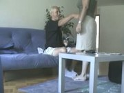 Submissive wife face fuck rough dog style abused slave girl humiliated ass
