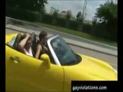 Road Handjob