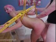 Tangled Tanzi Double Anal Punishment