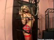 Blonde Bree Olson slave for sex