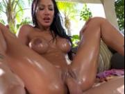 Outdoor Fun With Big Titty Amia Miley
