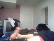 young guy jerking off