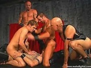 Leather Daddies Gang Banging Brad Benton 03