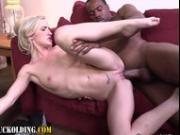 Babe gets fetish creampie