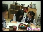 teacher and cute schoolgirl 003
