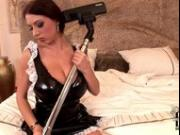 MAID MASTURBATES WITH VACUUM