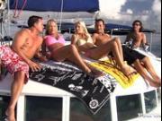 Awesome Threesome With Boroka Balls Aboard