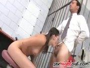 Teen Kandi Milan Fucked In Prison