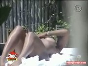 Janet Jackson Nude Sunbathing Video