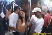 Brazil party orgy latina babes hard fucked with big cocks