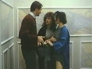 Barbara Dare, Mike Horner, Ronnie Dickson Elevator Threesome