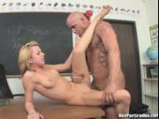 Cute Schoolgirl Seduced By Her Teacher!
