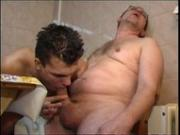 Old-Dick Cums All Over Young-Ass