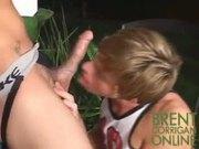 Brent Corrigan lip flop soccer boys